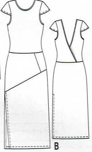 sukienkawykrój