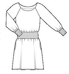 sukienkawykrójburda